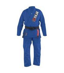 kimono jiu jitsu naja overcoming azul royal