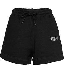 software isoli shorts flowy shorts/casual shorts svart ganni
