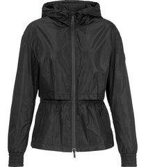 hogan windproof jacket black