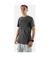 camisa t-shirt 3d rioutlet cinza 234