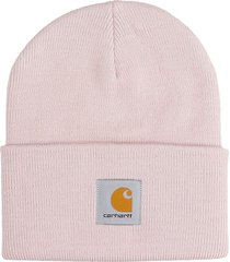 carhartt hat logo hats in rose-pink acrylic