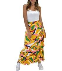 falda estampada bolero