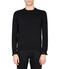 saint laurent crew neck sweater