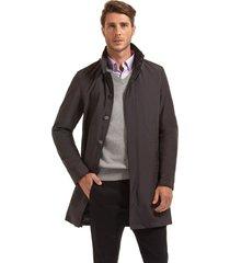abrigo impermeable seattle gris ferouch