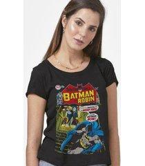 camiseta batman capa imortalidade feminina