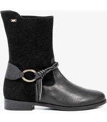 botas naif de cuero para mujer