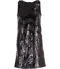 emporio armani dress w/s paillettes