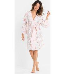 kimono badjas van shirtstof