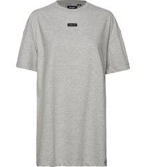 edit over d t_shirt dress kort klänning grå superdry