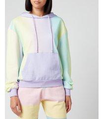 olivia rubin women's maya hoodie - ombre - l
