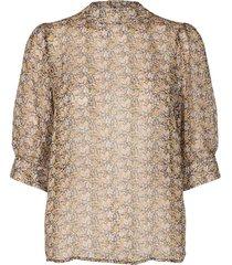 adore flower blouse