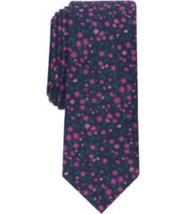 bar iii men's dayna slim floral tie, created for macy's