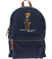 ralph lauren polo bear canvas backpack