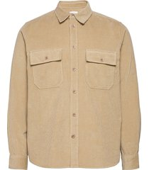 andrew 12w shirt overhemd casual beige wood wood