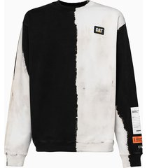 heron preston os cat sweatshirt hmba014f20jer009
