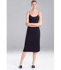 natori shangri-la nightgown, women's, black, size l natori