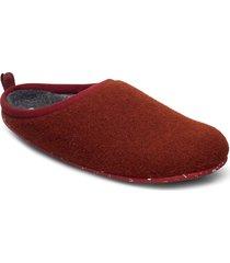 wabi slippers tofflor röd camper