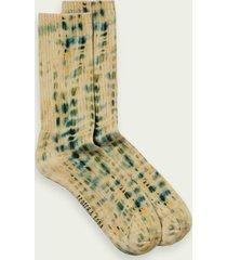 scotch & soda printed ribbed socks
