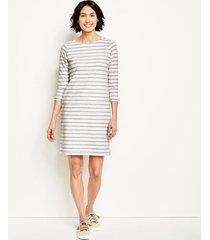 classic cotton striped tee dress