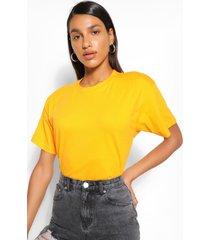 basic oversized t-shirt, apricot