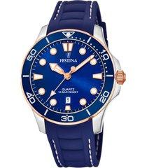 reloj boyfriend azul festina