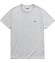 camiseta lacoste cinza - cinza - masculino - dafiti