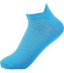 sport esternamente sottile elastico respirabile antiscivolo da usura-resistente calzini a tubo corto per gli uomini