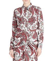 tania paisley blouse