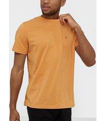 morris james tee t-shirts & linnen orange