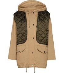 field jacket tunn rock brun h2o fagerholt