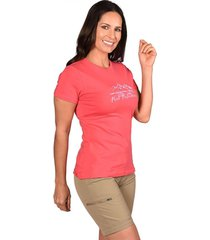 t-shirt atran rosado peak performance
