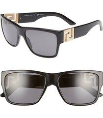 women's versace 59mm polarized square sunglasses -