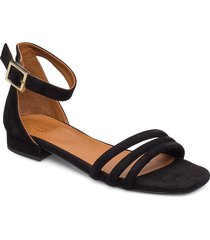 sandals 4028 shoes summer shoes flat sandals svart billi bi
