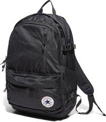 converse mochila straight edge black