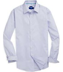 egara light blue triangle pattern sport shirt