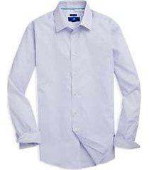 egara light blue triangle pattern sport shirt