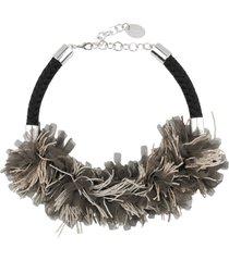 rose' a pois necklaces