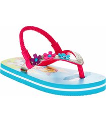 paw patrol skye & everest girls flip flops w/ optional sunglasses beach sandals