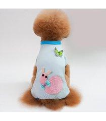 camiseta perros pijamas monos de algodón puro