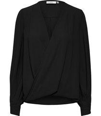 cenia wrap blouse