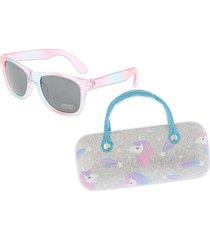 capelli new york kids' 48mm ombre unicorns sunglasses in silver combo at nordstrom