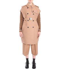 n.21 sleeveless trench coat