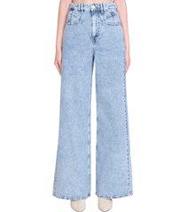 isabel marant lemony jeans in blue denim