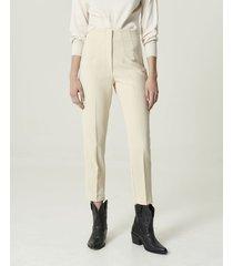 pantalón blanco portsaid high waist alexia
