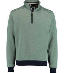 baileys sweater met rist groen rf 113111/77