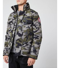 canada goose men's forester jacket - classic camo - l