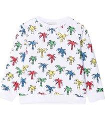 stella mccartney kids white sweatshirt