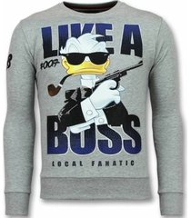 sweater local fanatic 007 trui - james bond sweater -