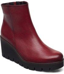 ankle boot shoes boots ankle boots ankle boot - heel röd gabor