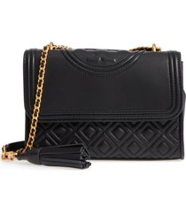 bolso tory burch convertible fleming 43833 - negro